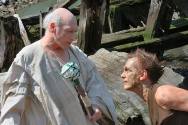 Photo of a performance of  The Tempest .