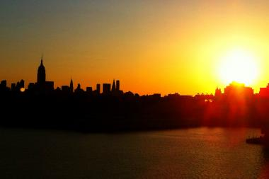 Temperatures will climb to 97 degrees in New York City on Monday and Tuesday.