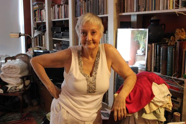 Tina Rossner's ceiling collapsed three times since Joseph Chetrit bought the building.