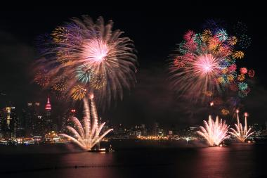 The rain should be out of the area in time for the July 4 fireworks show, a National Weather Service spokesman said.