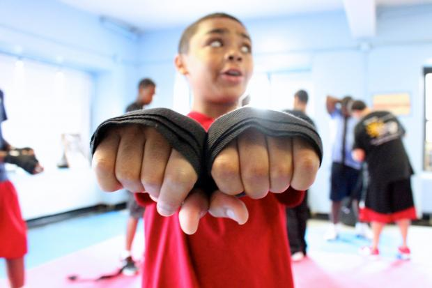 The Boys Club of New York is fighting obesity with boxing skills and good nutrition.