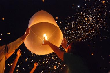 Madiba restaurant will celebrate Mandela Day with the release of sky lanterns in honor of the eatery's hero and namesake.