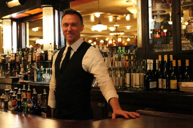 Marvin Lewis, longtime bartender and waiter at Bond 45 gave us the skinny on celeb spottings at his place of business.