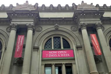 The Metropolitan Museum of Art is now open seven days a week.