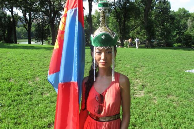 The annual Naadam celebration marked Mongolian independence with food, wrestling matches, and high spirits, July 6, 2013.
