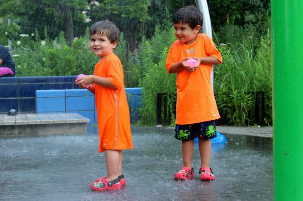 Astoria, Long Island City, Woodside and Sunnyside offer plenty of parks where the kids can cool down.