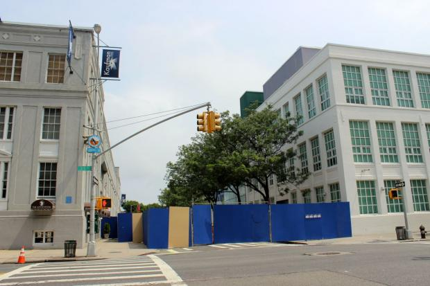 The backlot at Kaufman Astoria Studios closed off 36th St. between 34th and 35th Avenues in Queens.