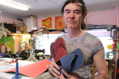Shoemaker Olivier Rabbath will conduct a summer sandal-making workshop at his Boerum Hill studio.