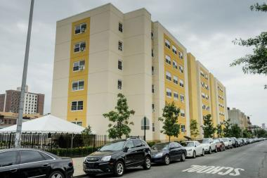 A stretch of Section 8 housing in Bed-Stuy received an $18.5 million upgrade.