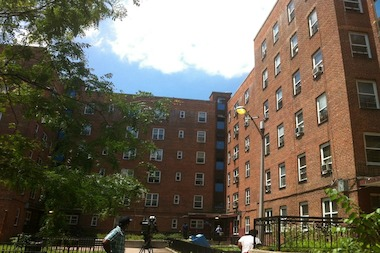A mid-morning fire at the Red Hook East Houses apartment complex injured several, including three firefighters