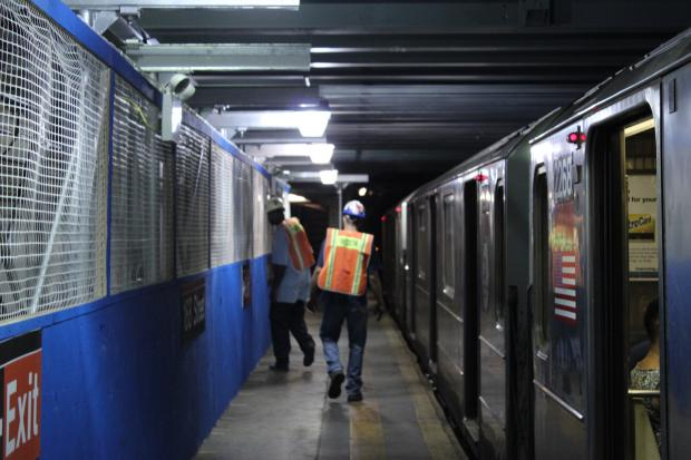 Repairs to the 161st and 181nd Street 1 Train stations began earlier this month, an MTA spokeswoman said.
