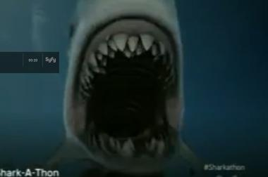 "A scene from ""Sharknado,"" the made-for-TV movie that is hitting the big screen Aug. 2."
