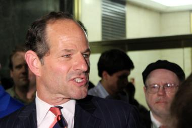 Former governor Eliot Spitzer.