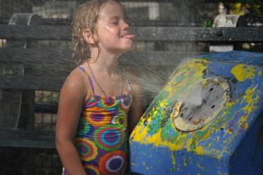 Public parks and pools offer a chance for your kids to cool off this summer.