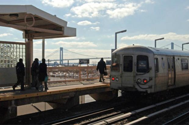 Staten Island Train Schedule Tottenville