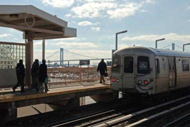 The Staten Island railroad received an F grade in a recent report.