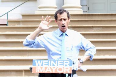 Former Rep. Anthony Weiner