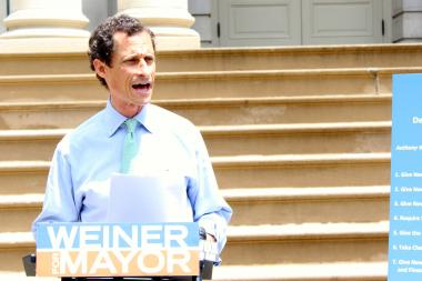 Disgraced former congressman and mayoral candidate Anthony Weiner spent campaign funds for his own personal use, including $1,500 on dry cleaning and cell phone service, according to the New York City Campaign Finance Board which levied almost $65,000 in fines for the violations.