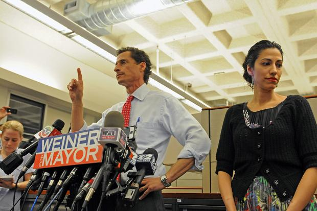 Disgraced ex-congressman and former mayoral candidate Anthony Weiner has a