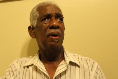 William Brandon, 73, was robbed twice by the same man in his apartment at the Queenbridge Houses.