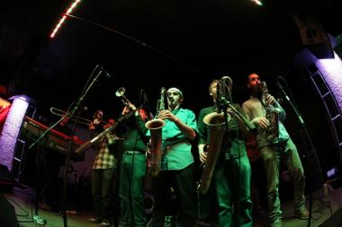 Afrobeat ensemble Zongo Junction is one of nine groups set to perform Sunday at Hostelling International.