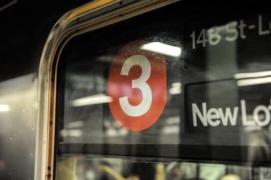 The 3 Train in NYC on August 1, 2013