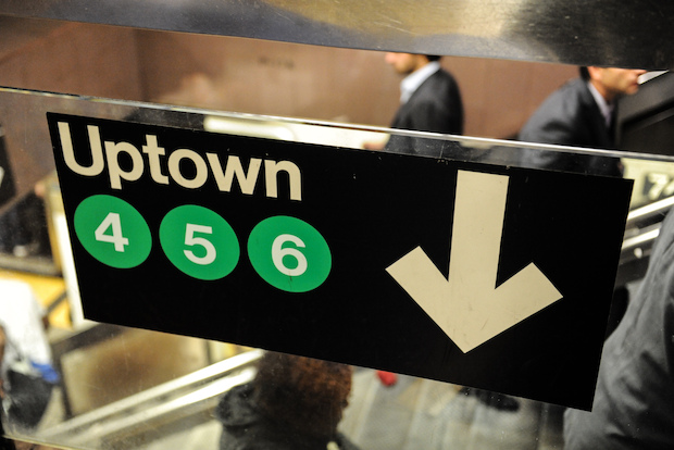 The man was found the 64-year-old man dead on the subway seat, police said.