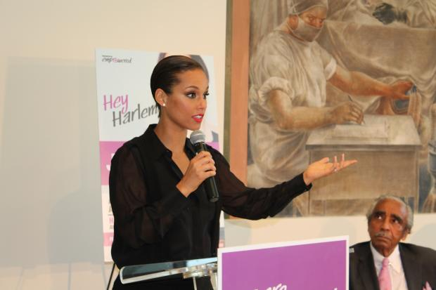 Earlier this year, Grammy-award winning singer  Alicia Keys  launched  EMPOWERED , a campaign with the group  Greater Than AIDS  to inform women about the disease. She joined with Rep. Charles Rangel, hip hop entrepreneur Russell Simmons, former National Basketball Association player Vin Baker and HIV/AIDS activists Thursday at Harlem Hospital to raise awareness about the continuing dangers of the disease.