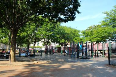Astoria Heights playground was slated for $1.6M in improvements.
