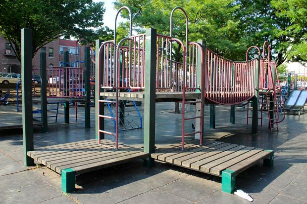 Parents are trying to secure funding and attention for Astoria Heights Playground.