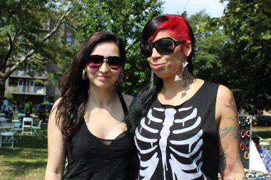 Attendees at last year's Bed-Stuy Pride festival. The fourth annual event is on Aug. 3.