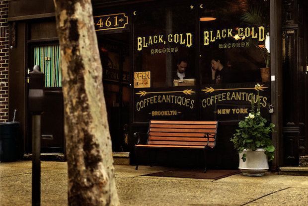 The Carroll Gardens record and antique store is introducing a New Orleans-style cold brewed coffee at their store.