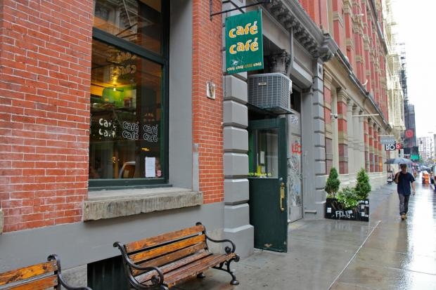 The SoHo coffee shop Cafe Cafe will close August 3, 2013 after 16 years in business, its owner said Aug. 1, 2013.