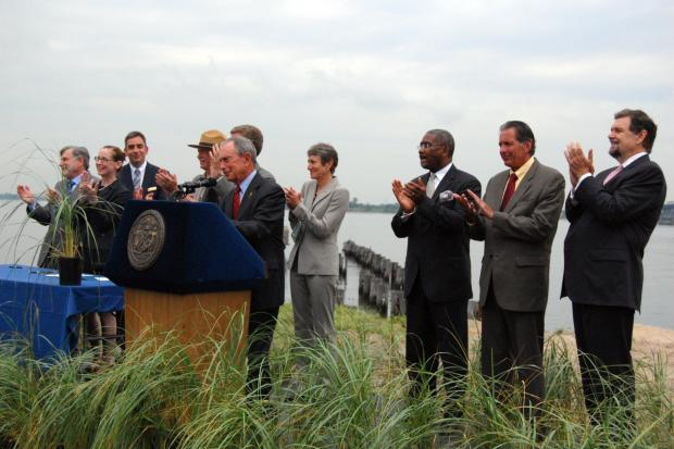 The Jamaica Bay Science and Resilience will be a top-tier research institute to study climate change.
