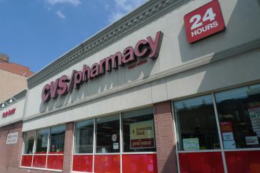 Two thieves struck the CVS on Ninth Street between Fifth and Sixth avenues on Aug. 22, police said.