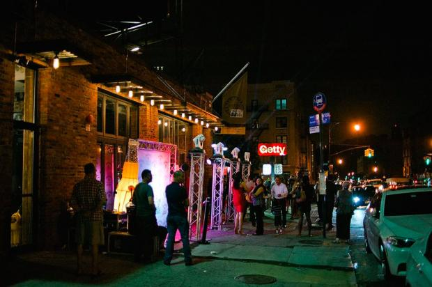 Party-goers flocked to the opening of District 12 on West 204th Street, but crowds and lights annoyed locals.