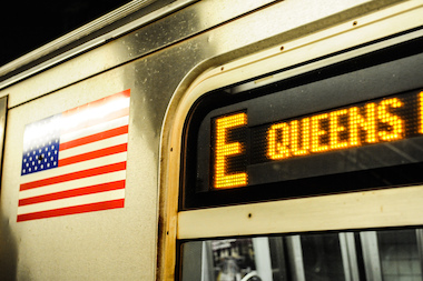 The E is one of 12 subway lines that will be impacted by construction this weekend.