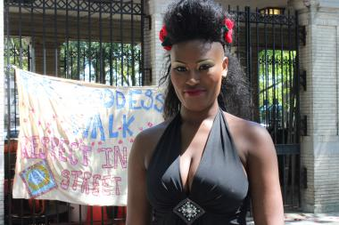 """The Goddess Walk,"" organized by Brown Girl Burlesque, marched from Fulton Park on Saturday."