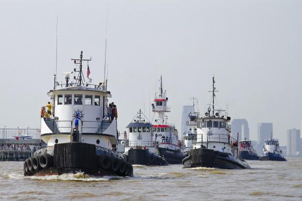 Over a dozen tugboats will race down the Hudson River in the annual nautical celebration.
