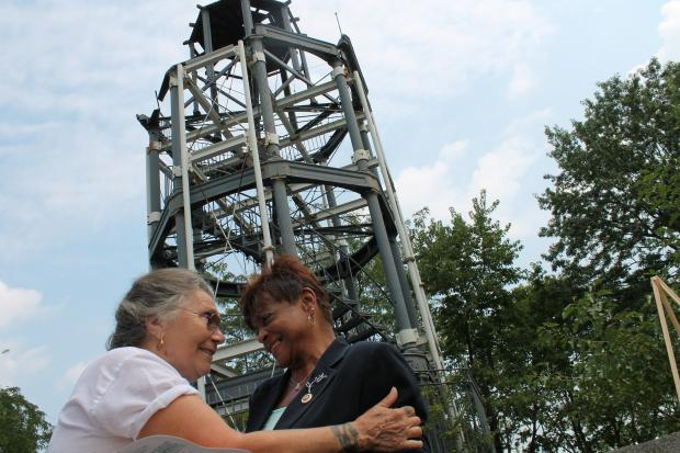 A crumbling fire watchtower at the acropolis of Marcus Garvey Park has been in place since 1936. Now with a $4 million infusion of city money, the last remaining cast iron watch tower in the country will be fully restored and, if a plan from Councilwoman Inez Dickens comes to fruition, also be used as a giant wi-fi hot spot serving Harlem.