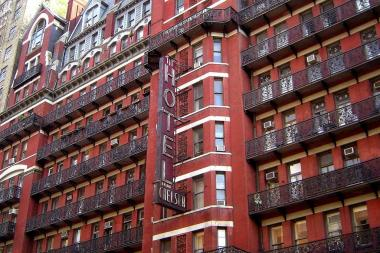 The Hotel Chelsea has been the site of a controversial renovation for nearly two years.