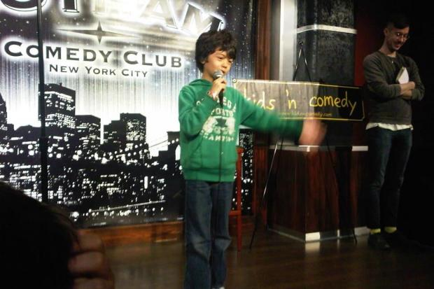 Jack Fuld performs in stand-up comedy shows in Manhattan.