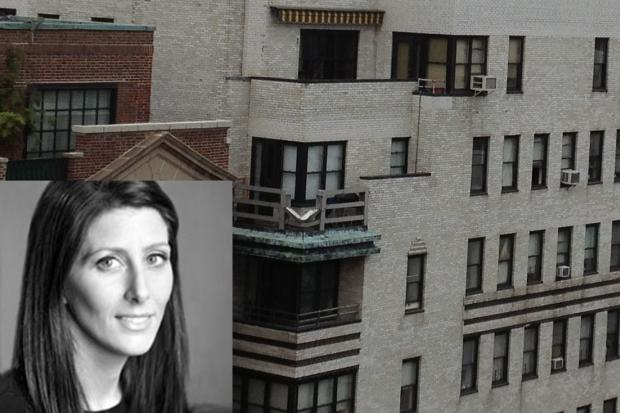 Jennifer Rosoff, 35, fell from her 17th floor balcony.