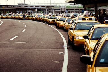 The Port Authority is looking to add a $4 taxi fee to rides going in and out of John F. Kennedy, LaGuardia and Newark International airports.