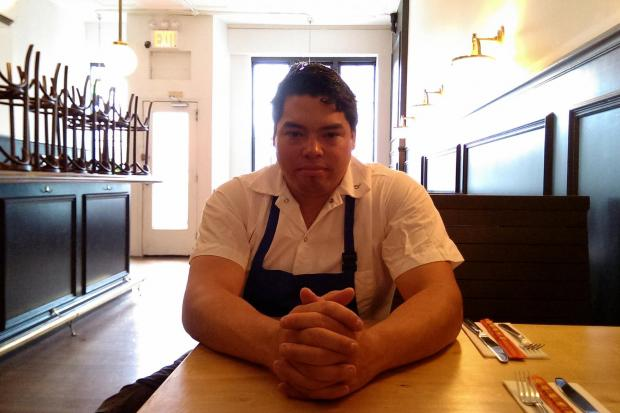 Vekslers, a new restaurant at 521 Hicks St., will soon be headed by Chopped winner Joe Bayley.