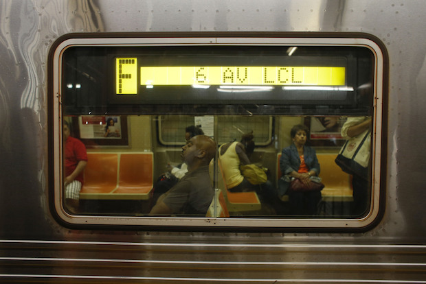The F line is one of 14 subway lines slated for service changes this weekend.