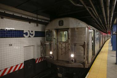 The C train is one of 13 lines scheduled to undergo service changes this weekend.
