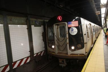The R is one of 14 subway lines scheduled to undergo service disruptions this weekend.