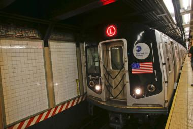 The L is one of 14 lines slated to undergo service changes this weekend.