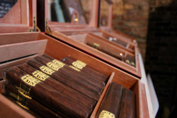 Manhattan cigar and cigarette shop, Nat Sherman, has opened a pop-up shop in Red Hook.